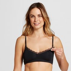 df44405d5b7c5 Comfort and easy accessibility are the name of the game when it comes to  the Women s Nursing Sleep Bralette - Gilligan   O Malley™. This pullover bra .