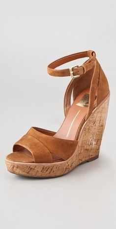 dolce vita, cork wedges. on sale!