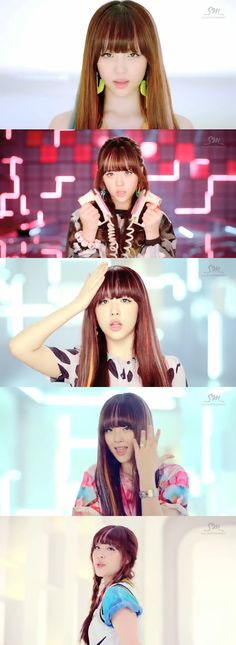 "Name: Jinri Choi Stagename: Sulli Member of: F(x) Birthdate: (Screencaps from the MV ""Electric Shock"") Sulli Choi, Choi Jin, South Korean Girls, Korean Girl Groups, Victoria Song, Electric Shock, Asian Love, K Pop Star, Korean Entertainment"