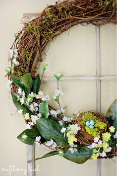 Spring Wreaths - round up | My Soulful Home