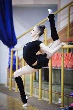 Maria Titova, Russia; training 2015