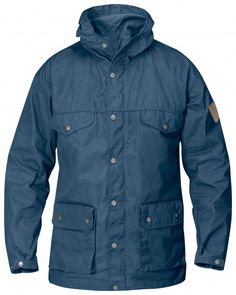 Fjallraven Greenland Mens Jacket - Dark Navy All Sizes Large for sale online Lightweight Tent, Mens Outdoor Clothing, Jacket 2017, Winter Parka, Retro Stil, Down Parka, Outdoor Outfit, Moda Masculina, Jackets