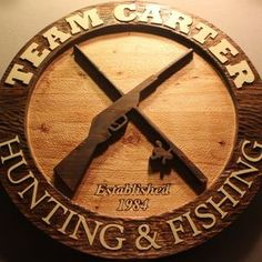 Custom Carved Wood Signs | Hand Carved Wood Signs | Home Signs | Cabin Signs by Scott Zuziak