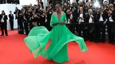 PHOTO: Lupita Nyongo at the 68th international film festival, Cannes, France, May 13, 2015.