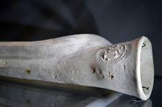 https://flic.kr/p/JwXqiE   Zeeuws Museum (Middelburg, The Netherlands) - Pilgrim horn (1500-1550)   Pictures taken by Björn Roose at the Zeeuws Museum, Middelburg, The Netherlands