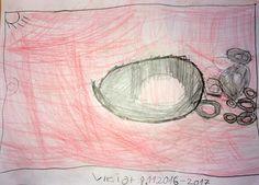 Viktor - Donuts - Bleistift und Buntstifte