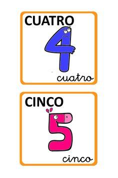 Números para decorar la clase 3