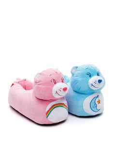 Image for Ladies Care Bear Slippers from Peter Alexander
