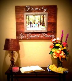 custom barnwood frames sign lifes greatest blessings with 1 11x14 frame flash