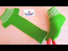 Sehr leichte Herren-Damen bequeme Socken stricken einfaches Stricken … Chaussettes confortables très légères pour hommes et femmes, en tricot … # Hommes Knitting Socks, Free Knitting, Baby Knitting, Crochet Baby, Knit Crochet, Simple Knitting, Crochet Granny, Loom Knitting, Easy Knitting Patterns