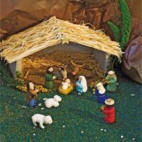 Personnage de la crèche en Fimo Décos Noël à fabriquer