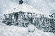 Considerations when getting a yard on a summer cottage - AP Home Development Cottage Design, House Design, Winter Wallpaper, Vintage Winter, Home Improvement, Yard, Snow, Summer, Scrapbooking