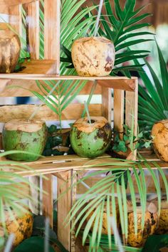 A Colorful Destination Wedding in Isla Mujeres Cuban Party Theme, Havana Theme Party, Havana Nights Party, Tropical Party, Tropical Decor, Sunset Party, Caribbean Party, Coconut Leaves, Decoration Evenementielle