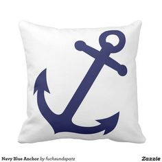 Navy Blue Anchor