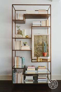 gorgeous bookcase but backward facing books?
