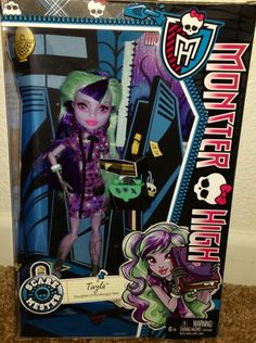 Monster High TWYLA SCARE MESTER Wave 2 NEW In Hand scaremester