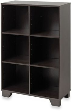 Pic On Real Simple Storage Unit Espresso Bed Bath u Beyond You can even purchase dividers for inside the larger boxes