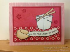 Lawn Fawn - Good Fortune, Let's Roll (flowers) _ lovely birthday card by Shari B via Flickr - Photo Sharing!
