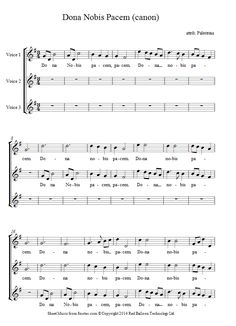 Palestrina - Dona Nobis Pacem (canon) sheet music for Choir Violin Sheet Music, Piano Music, Hallelujah Sheet Music, Singing Lessons For Kids, Middle School Choir, Learn Singing, Worship Songs, Music Classroom, Second Language