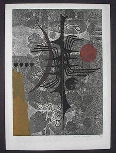 Woodblock Print  by Fumio Fujita