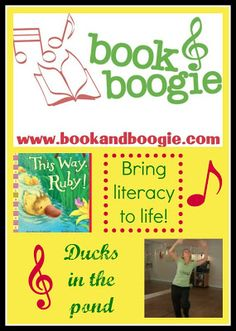 """""""Book & Boogie"""" videos, where we bring together story themes with a music and movement dance - and break down some choreographed movements that teachers and parents can use in classrooms or with playgroups."""