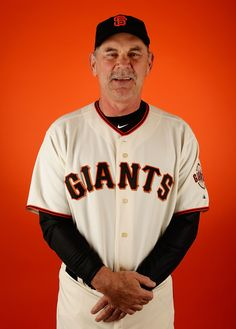 Manager Bruce Bochy #15 of the San Francisco Giants poses for a portrait during spring training photo day at Scottsdale Stadium on February 27, 2015 in Scottsdale, Arizona. (February 26, 2015 - Source: Christian Petersen/Getty Images North America)