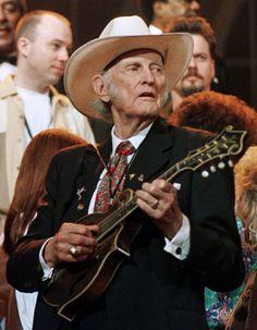 Bill Monroe,  father of Bluegrass.  Rosine, KY