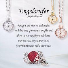 Calling an Angel!  #Engelsrufer #AngelWhisperer #Jewellery #Angel #Whisperer - #angels #jewellery #gracecojewels #engelsrufer