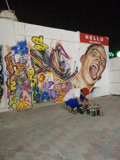 Lampe à poser Déco Graffiti Tintin
