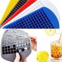 Buy 160 Ice Cubes Frozen Cube Bar Pudding Silicone Tray Mould Tool DIY at Home - Design & Decor Shopping Silicone Ice Molds, Ice Cube Molds, Ice Cubes, Cool Kitchen Gadgets, Kitchen Tools, Cool Kitchens, Plastic Trays, Cooking Gadgets, Cooking Tools