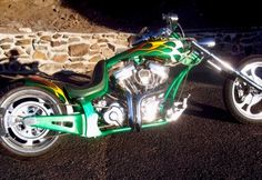 2004 Custom Harley Chopper - MidAmerica Auctions LAS13