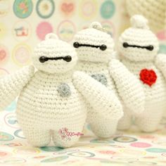 Make your own cute baymax amigurumi using this easy pattern. Grab it and make your present for kids or beloved ones :)
