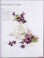 "Gallery.ru / tymannost - Альбом ""Helene Le Berre - Herbier au point de croix (2008)"""
