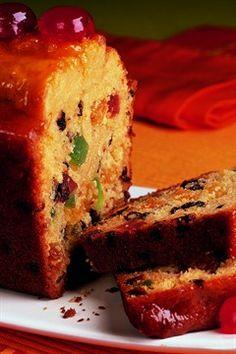 Cake aux fruits confits                                                                                                                                                                                 Plus