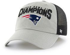 1d98943b3 New England Patriots Super Bowl Champions LI Taylor Closer 47 Brand Stretch  Fit Hat