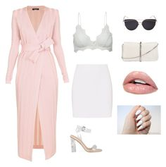 """""""Girly"""" by kduffy-1 on Polyvore featuring Balmain, Anine Bing, Helmut Lang and 3.1 Phillip Lim"""