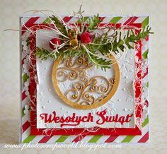 Scrap & Photo Christmas card Świątecznie
