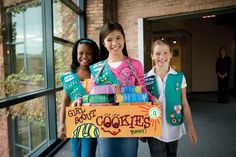 Have you bought your Girl Scout Cookies yet, or maybe you want to support the Girl Scouts but don't want the cookies for yourself. If that is the case, check out this great donation program the Girl Girl Scout Cookie Meme, Girl Scout Cookie Sales, Brownie Girl Scouts, Girl Scout Swap, Girl Scout Troop, Girl Scout Cookies Flavors, Girl Scouts Of America, Gs Cookies, Sales Girl