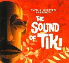 Various Artists, Sound Of Tiki Sven A Kirsten Pre - Exotica Compilation [Cd] Tiki Hawaii, The Bear Family, Tiki Art, Tiki Tiki, Cool Album Covers, Paradise Found, Easy Listening, Rhythm And Blues, World Music