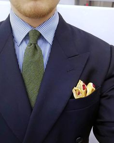 Silver Satin and Soft Green Woven tie