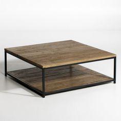 Table basse chêne et métal Aranza Am Pm prix promo AM PM La Redoute 499.00 € TTC