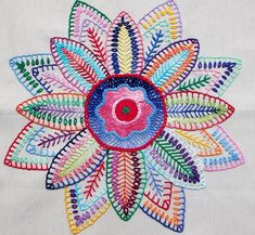 hand embroidery by Lucía Rosa Martins