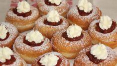 Bavorské šišky Doughnut, Muffin, Food And Drink, Bread, Breakfast, Basket, Gastronomia, Brot, Breads