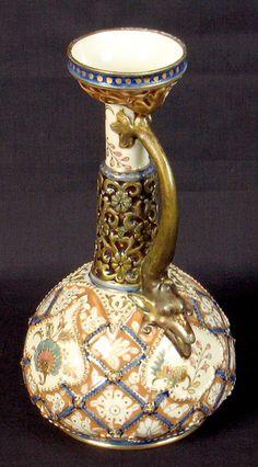 Zsolnay pitcher vase