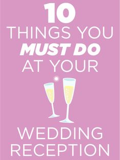 10 Things You Must Do At Your Wedding Reception - This is a great list! I honestly didn't even think about having a sitter for the kids! Wedding Reception, Our Wedding, Dream Wedding, Fantasy Wedding, Reception Ideas, Wedding Beauty, Wedding Programs, Budget Wedding, Trendy Wedding
