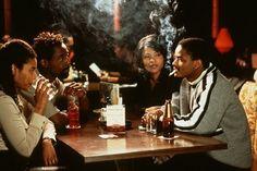 Isaiah Washington, Nia Long & Larenz Tate in Love Jones   1996