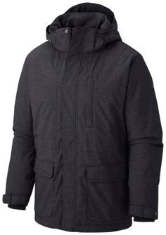 The Columbia Men's Rugged Path II Jacket is warm, waterproof winter coat  with a clean, utilitarian design, featuring insulation and thermal  reflectivity for ...