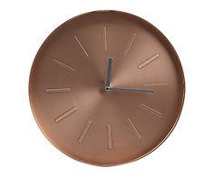 Horloge, cuivré - Ø31