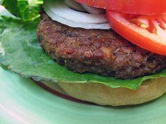 Oat Burger with Hazelnuts by myveggiekitchen, via Flickr
