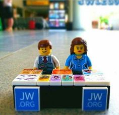 Lego Pioneers! This is so cute! (source: Ministry Ideaz FB page)